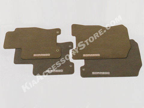 Kia Borrego Carpeted Floor Mats