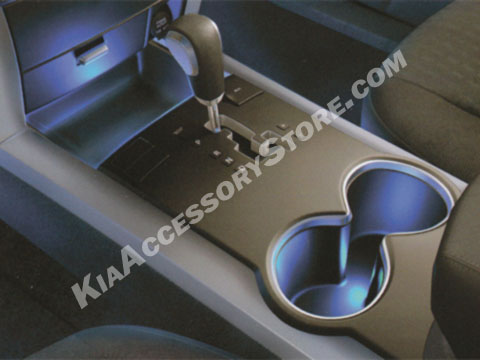 Kia Borrego Interior Lighting Kit