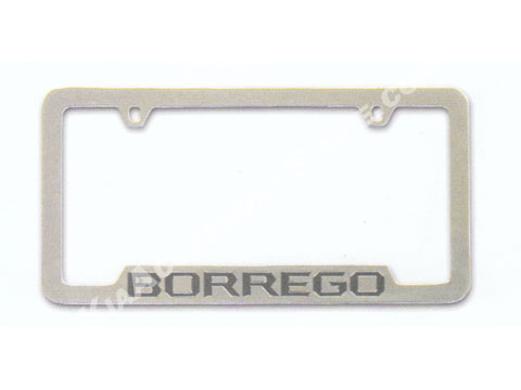 Kia Borrego License Plate Frame