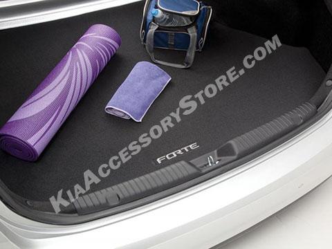 Kia Forte Carpeted Cargo Mat