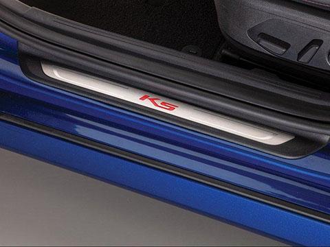 Kia K5 Illuminated Door Sill Plates