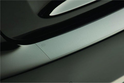 Kia K900 Clear Rear Bumper Applique