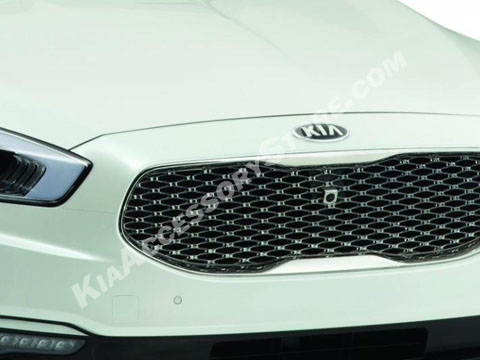 Kia K900 Clear Hood Applique