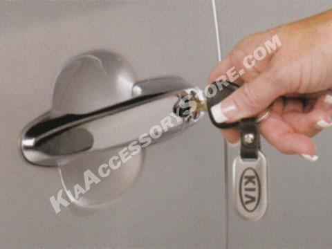 Kia Stainless Steel Key Chain