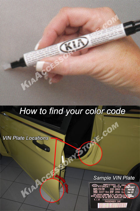 Kia Touch Up Paint Pen