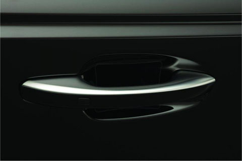 Kia K900 Clear Door Pocket Protector