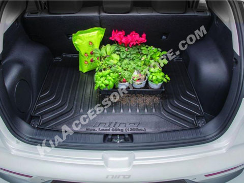 kia niro cargo tray. Black Bedroom Furniture Sets. Home Design Ideas