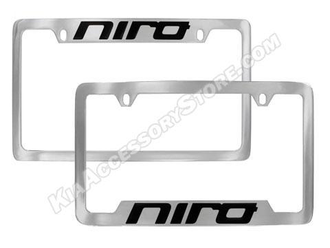 Kia Niro Plate Frames