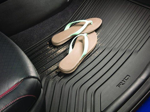 Kia Rio All Weather Floor Mats
