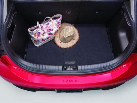 Kia Rio Carpeted Cargo Mat