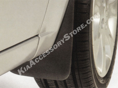 Kia Rio Splash Guards
