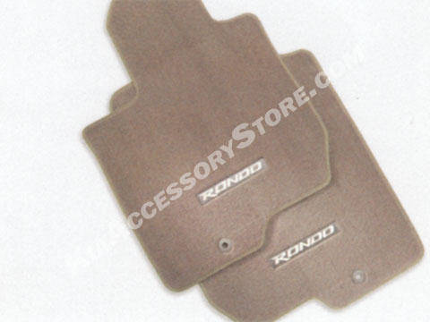 Kia Rondo Carpeted Floor Mats