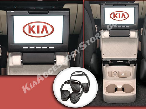 2015 18 Kia Sedona Rear Seat Entertainment Kit