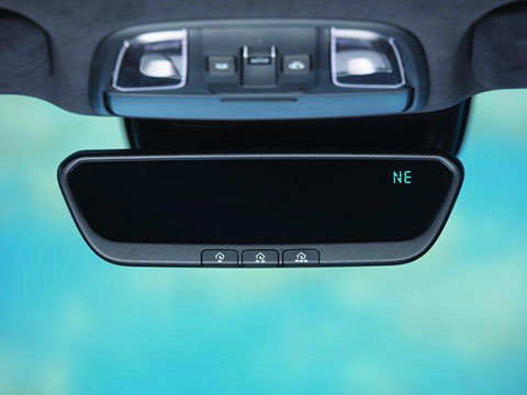 Kia Seltos Auto Dimming Mirror