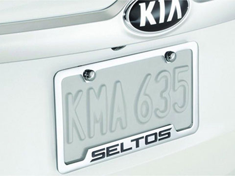 Kia Seltos License Plate Frame