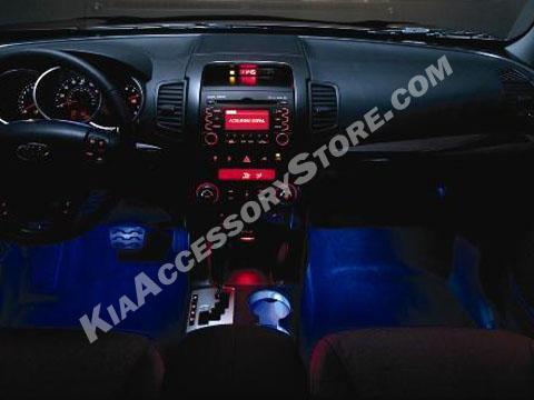 Kia Sorento Interior Lighting