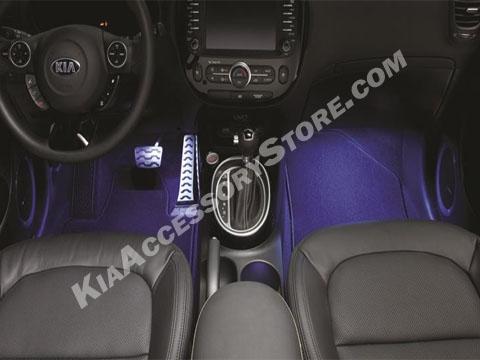 2014 18 kia soul interior lighting kit