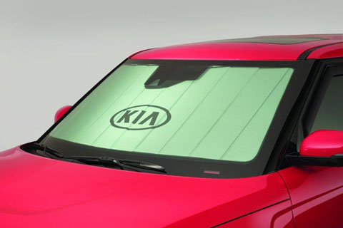 Kia Soul UV Sunshade