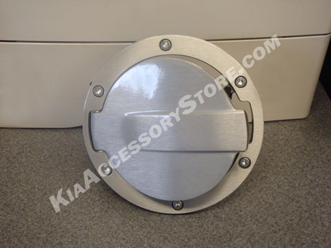Kia Soul Alloy Fuel Door