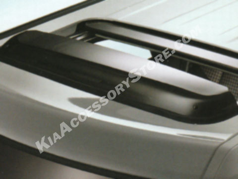 Kia Soul Sunroof Deflector
