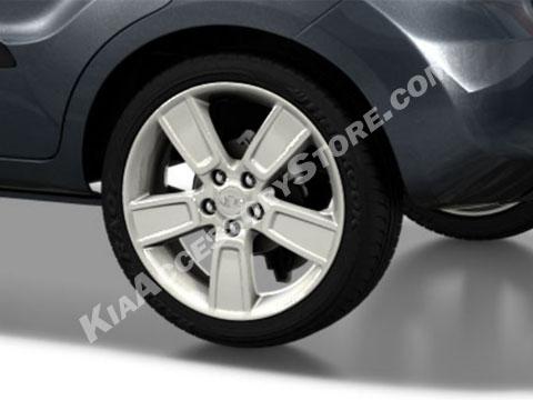 Kia Soul White Alloy Wheels