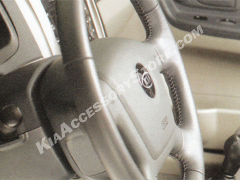Kia Spectra Leather Steering Wheel