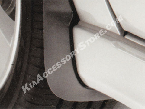Kia Spectra Splash Guards