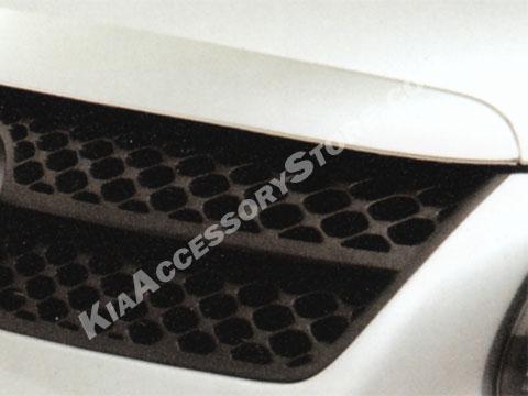 Kia Spectra Sport Mesh grille