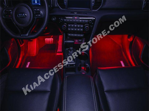 Kia sportage interior lighting option