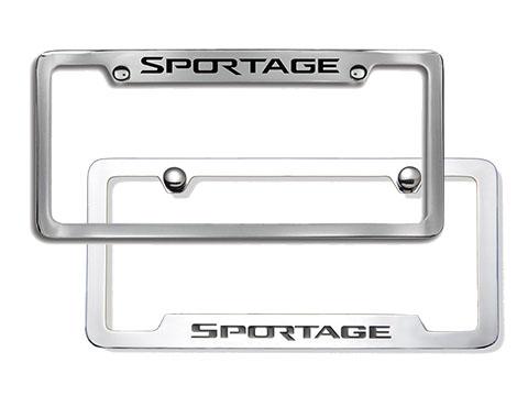 Kia Sportage License Plate Frames