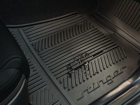 Kia Stinger All Weather Floor Mats