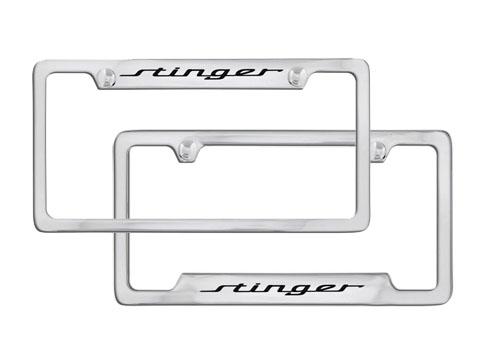 Kia Stinger License Plate Frame