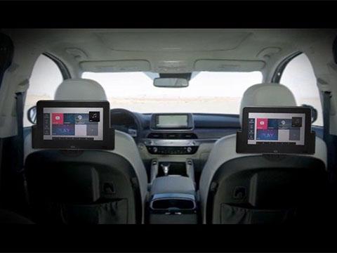 Kia Telluride Rear Seat Entertainment