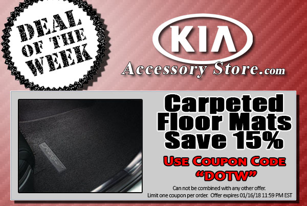 Deals kia parts deals save 15 on kia cargo nets use coupon code dotw fandeluxe Images